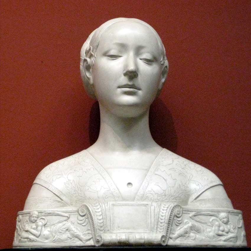 Woman by Francesco Laurana