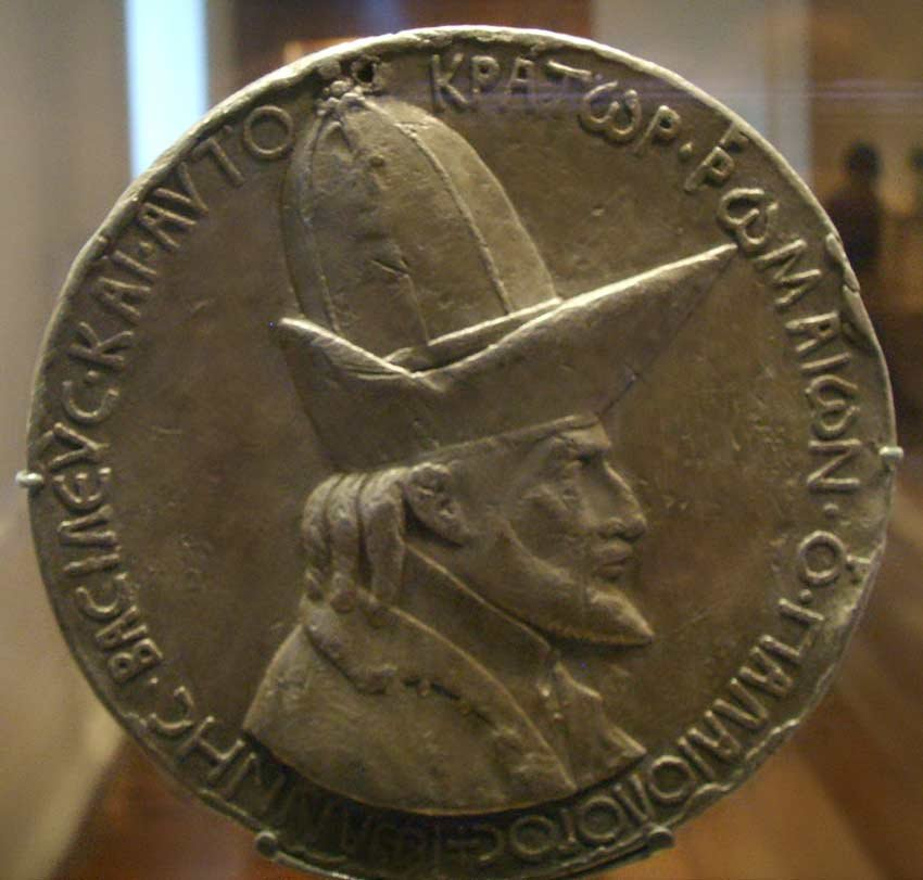 Medal of John VIII Palaeologus by Pisanello