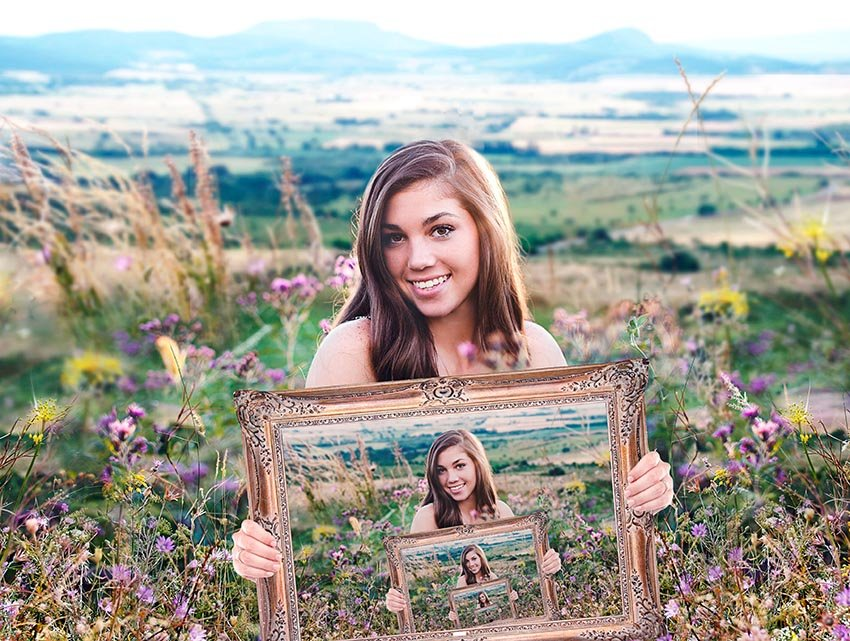 Picture Within a Picture Photography Illusion Tutorial