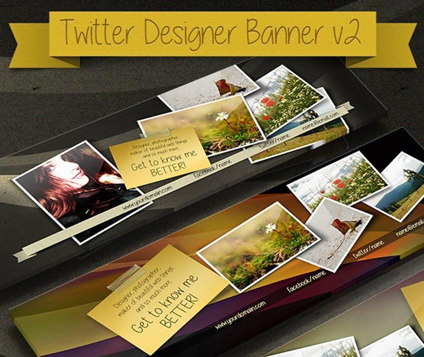 Designer Twitter Banner
