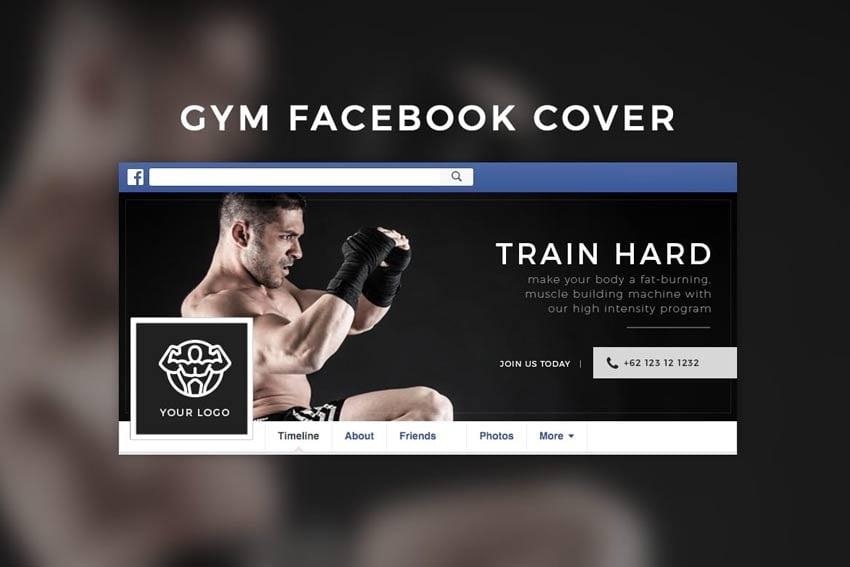Gym Facebook Cover