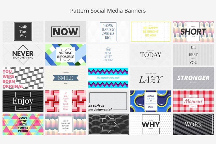 Facebook Social Media Banners Pack