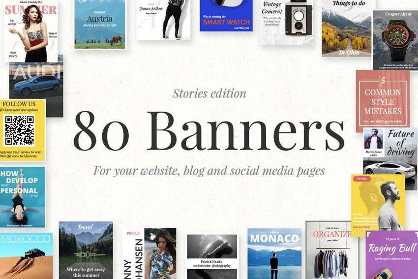 80 Banners - Stories Edition