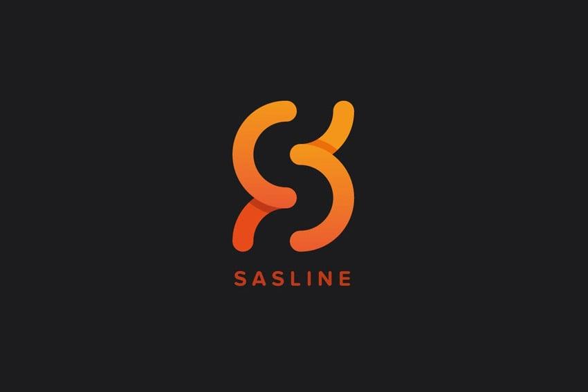 Sasline Logo Template