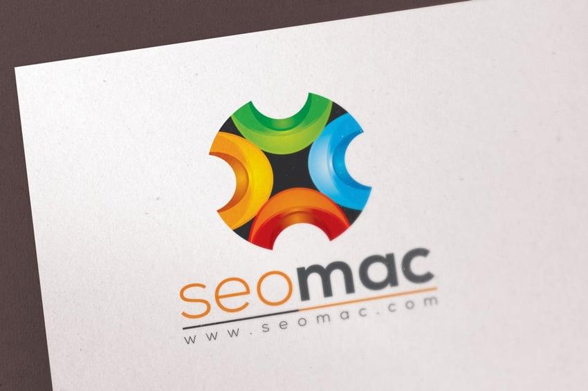 SeoMac Abstract Vector 3D Logo