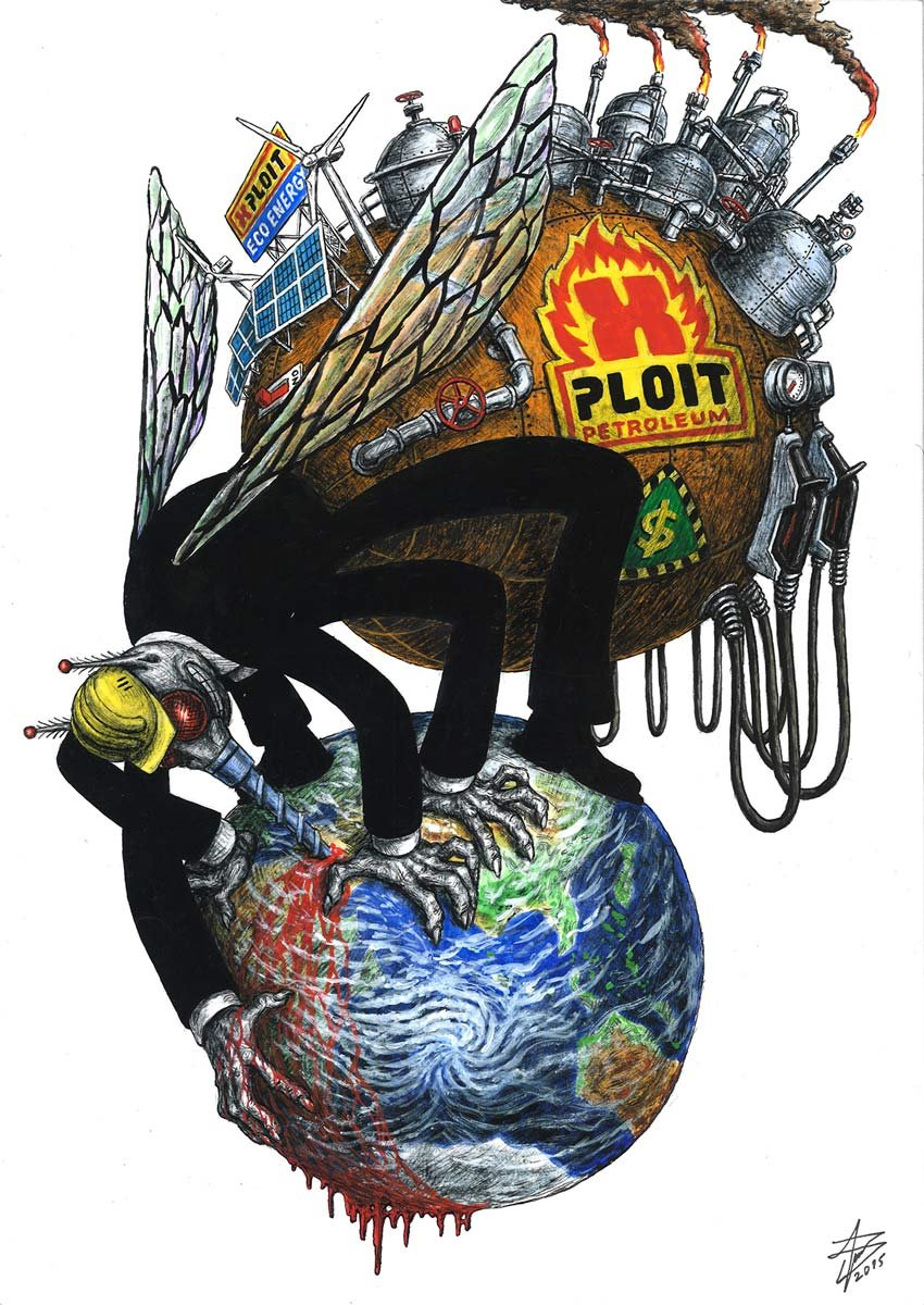 Mosquito Illustration by Aleksandar Todorovic