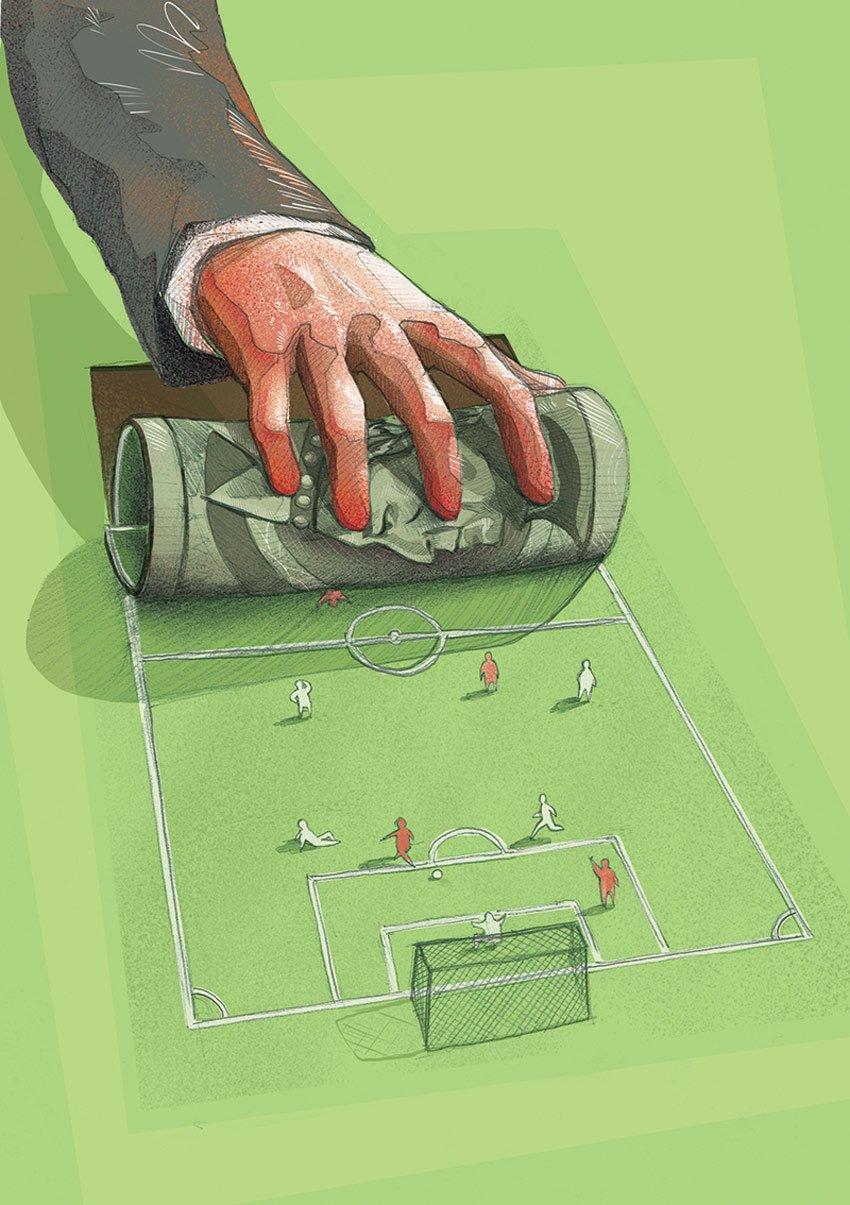 Big Politics Money and Football by Jakub Cichecki