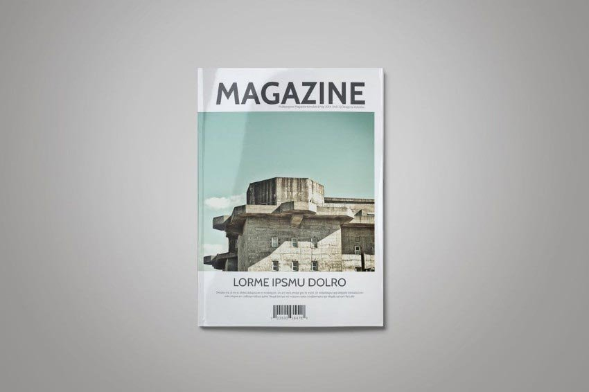 Simple InDesign Magazine Template