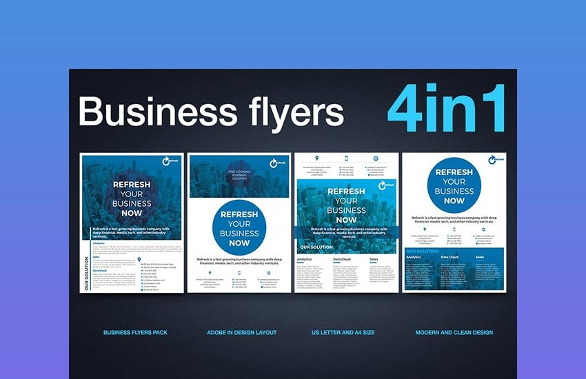 Multipurpose Business Flyer Pack v1