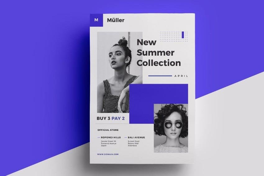 Fashion Flyer InDesign Template