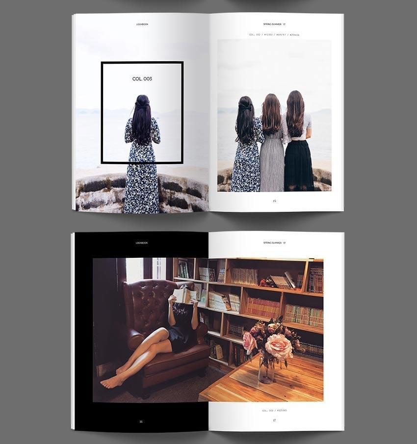 Lookbook Catalog InDesign Template