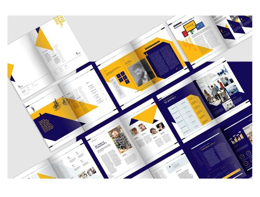 Business InDesign Brochure Template