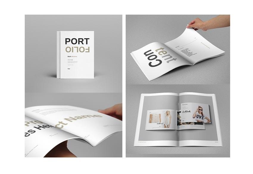 Portfolio Booklet Template