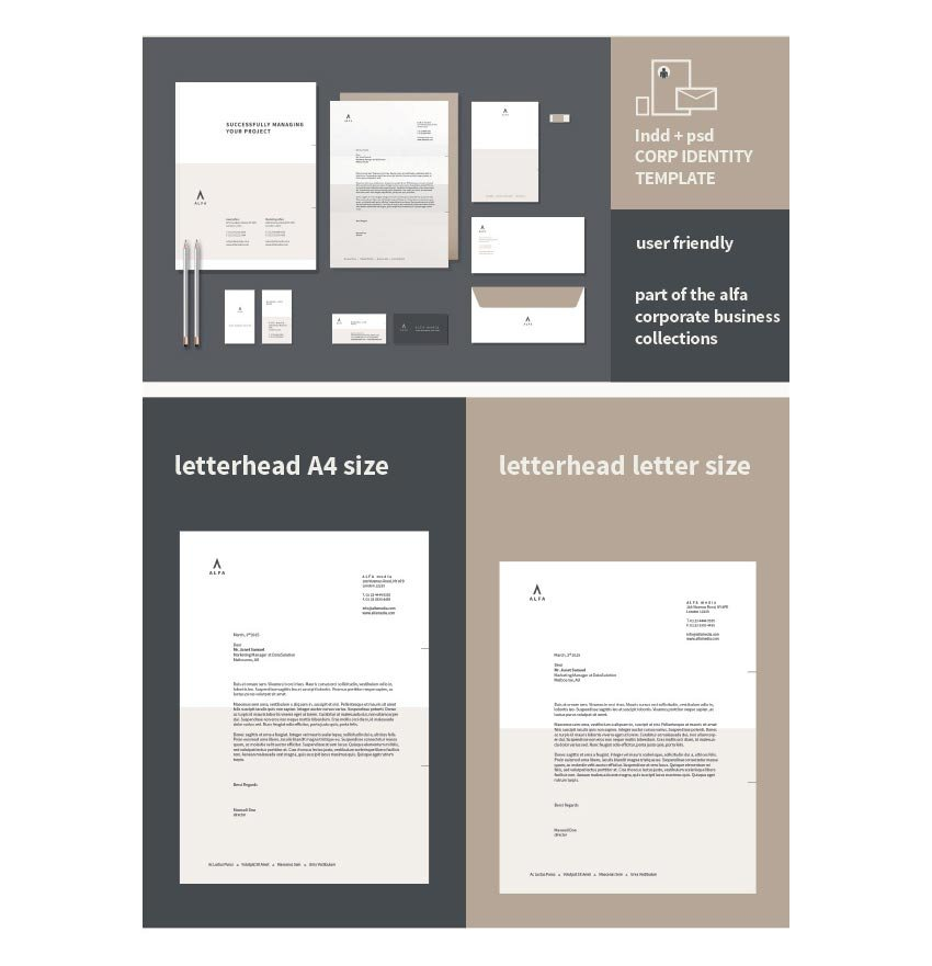 Corporate Stationery Template Set