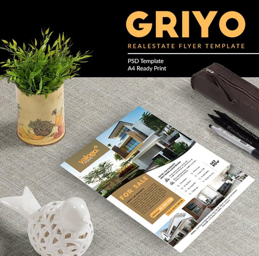 Griyo Real Estate Flyer