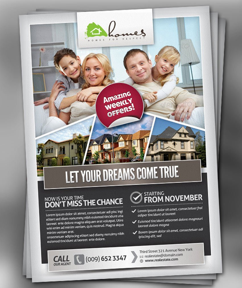 Pro Real Estate Flyer Template