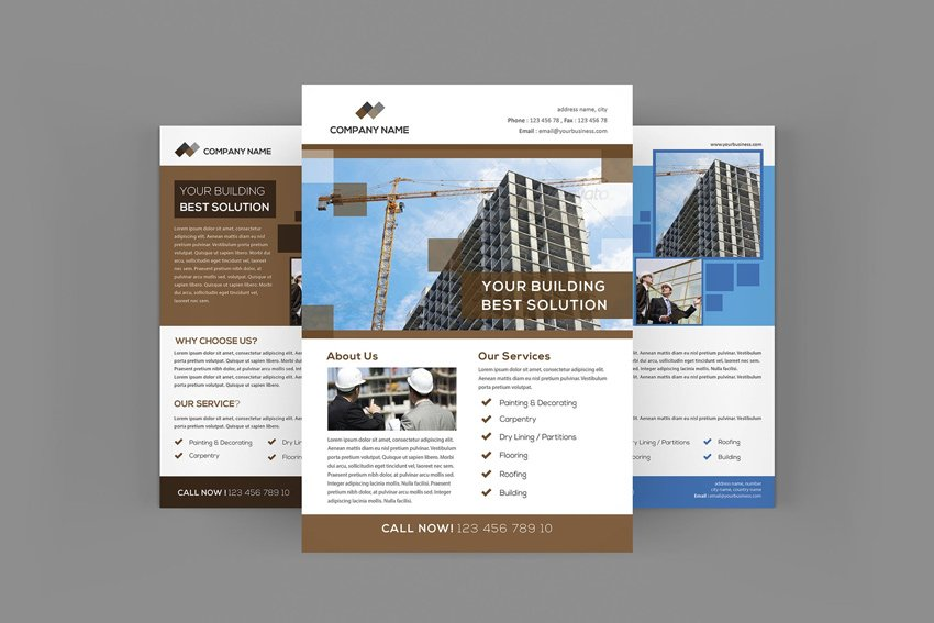 Construction Flyers