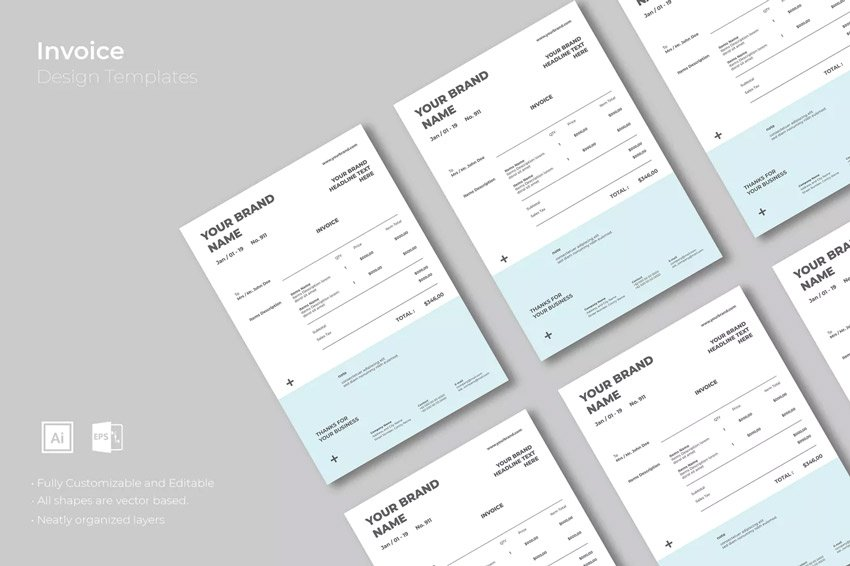 Invoice Design Template
