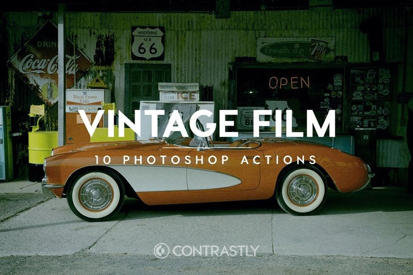 Vintage Film Photoshop Actions