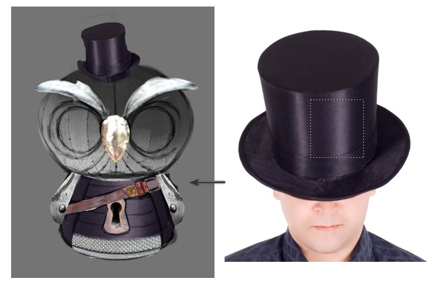 Add the Hat Texture to the Body