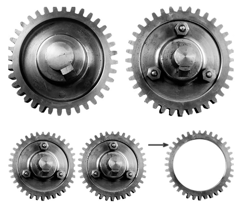Extract the Gears
