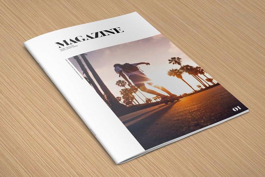 Minimal Photography Portfolio - Magazine