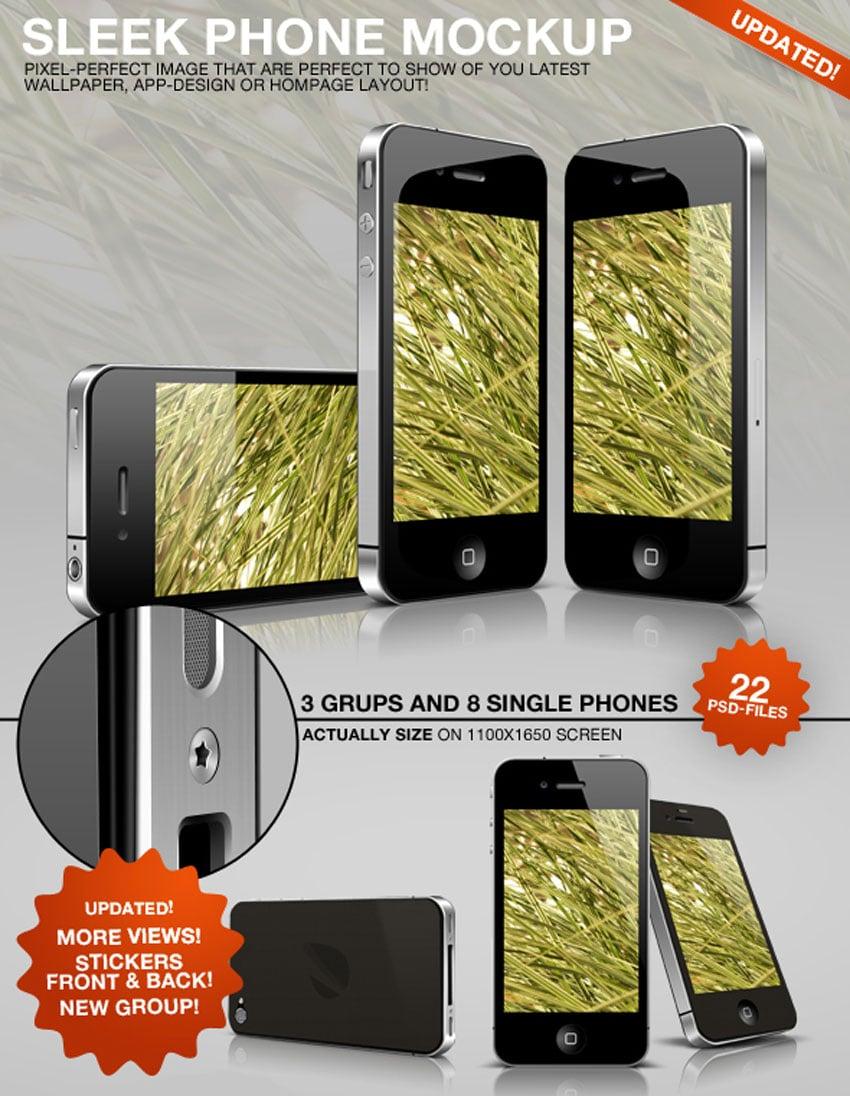 Sleek Phone Mockup