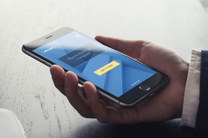 Smartphone Mockup - Real Environment