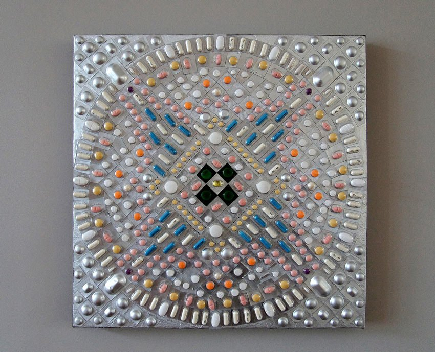 Mandala of Pills by Van Lieshout VI