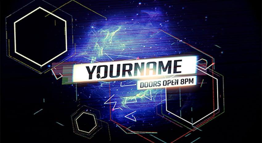 Glitch - YouTube One Channel Design Banner