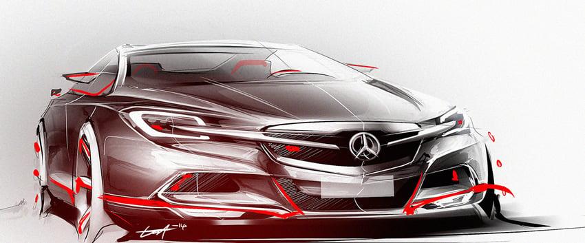Mercedes Benz by Esa Mustonen