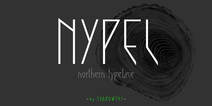 Nypel - Typeface