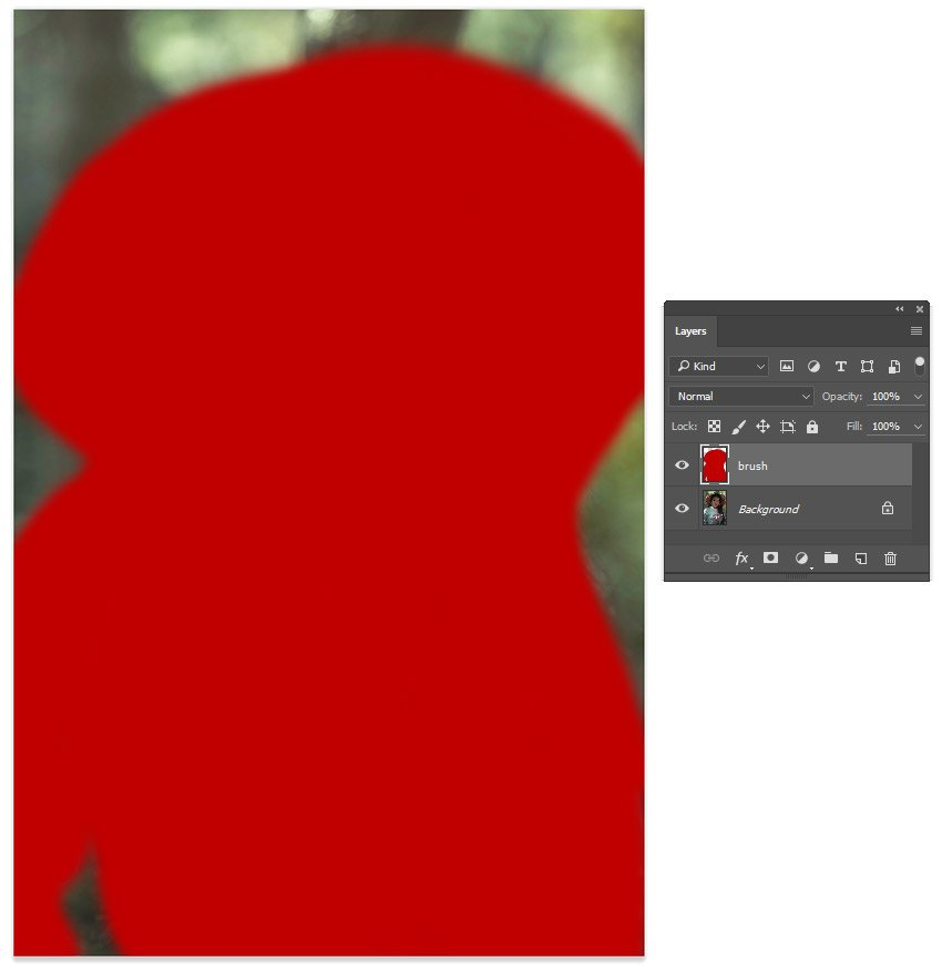 Create the Action Layer Mask