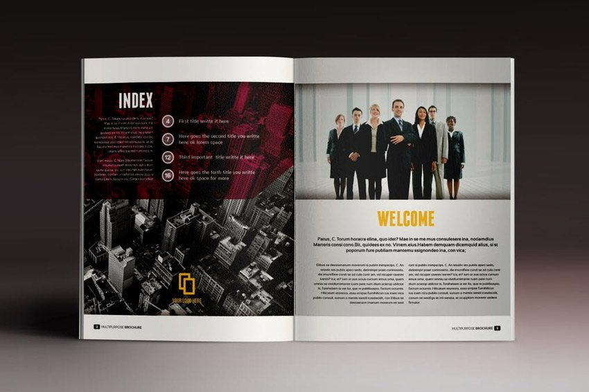 Multipurpose Brochure Indesign Template
