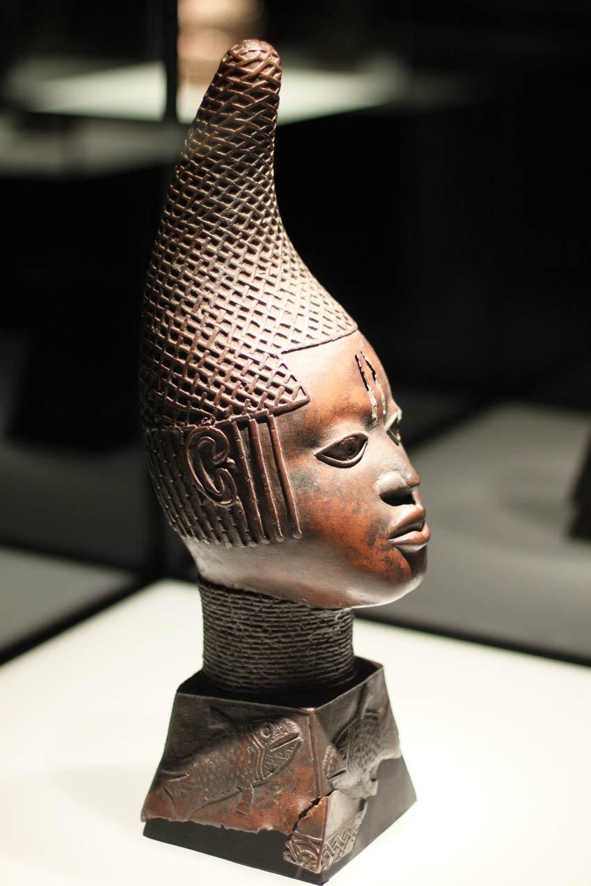 Queen Mother Sculpture From Benin