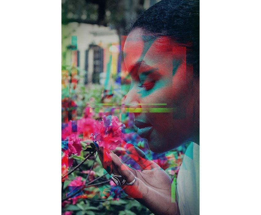 Animated RGB Glitch Effect Photoshop Tutorial