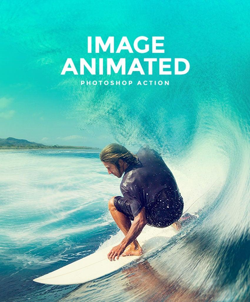 Image Animated Photoshop Action