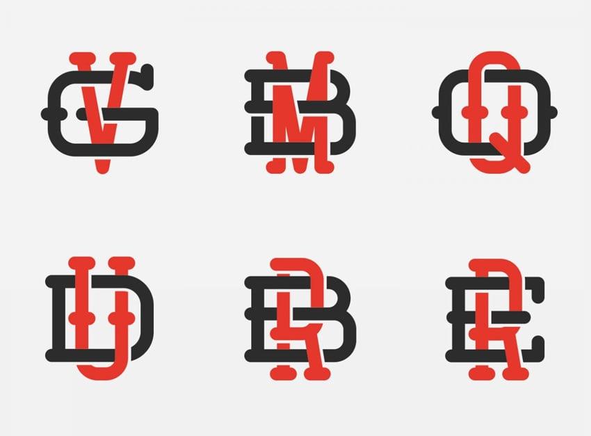 Vintage Monogram Logo Kit