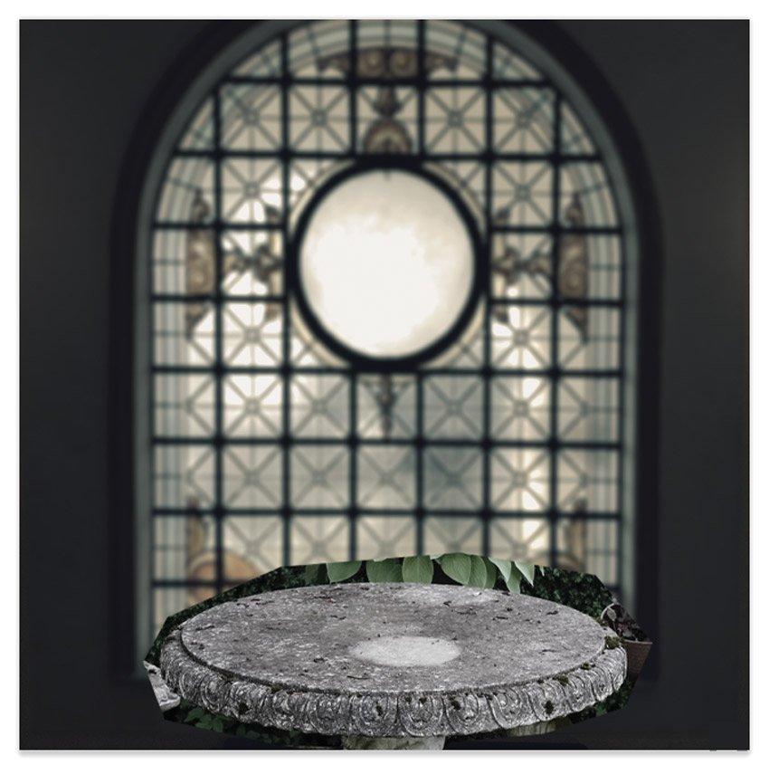 Add the stone table