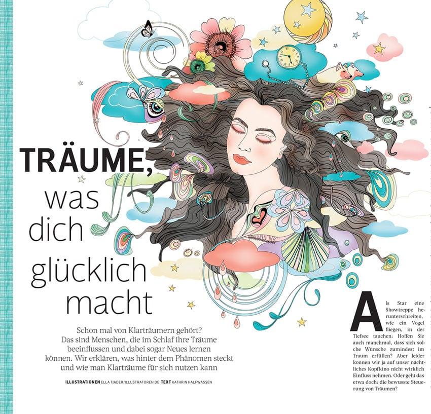 Lucid Dreams Editorial by Ella Tjader