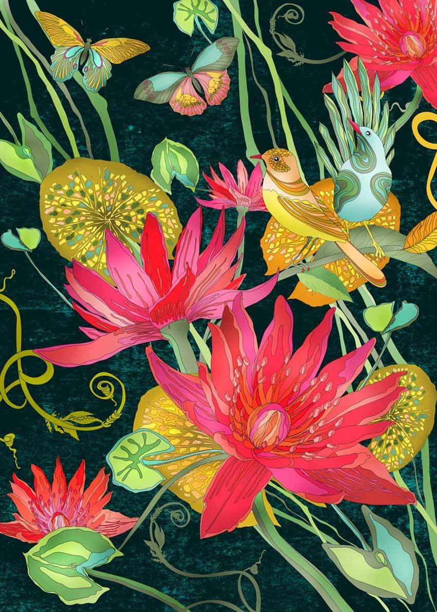 Botanical Illustration by Ella Tjader