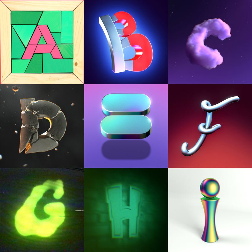 36 Days of Type by Jonathan Gagnon