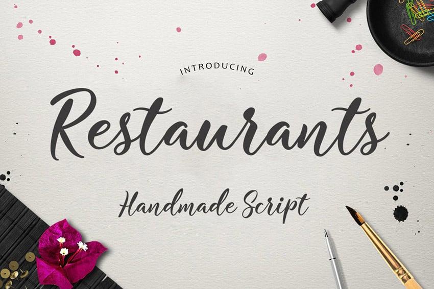 Restaurants Script