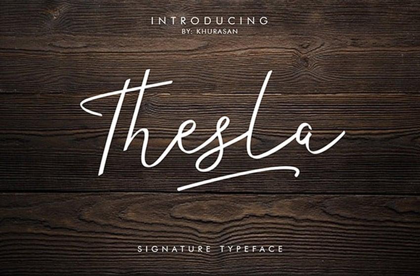 Thesla Script