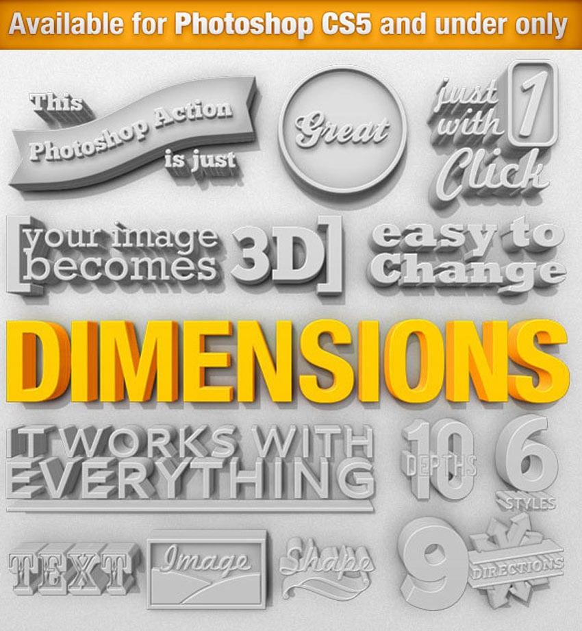 Dimensions - 3D Generator