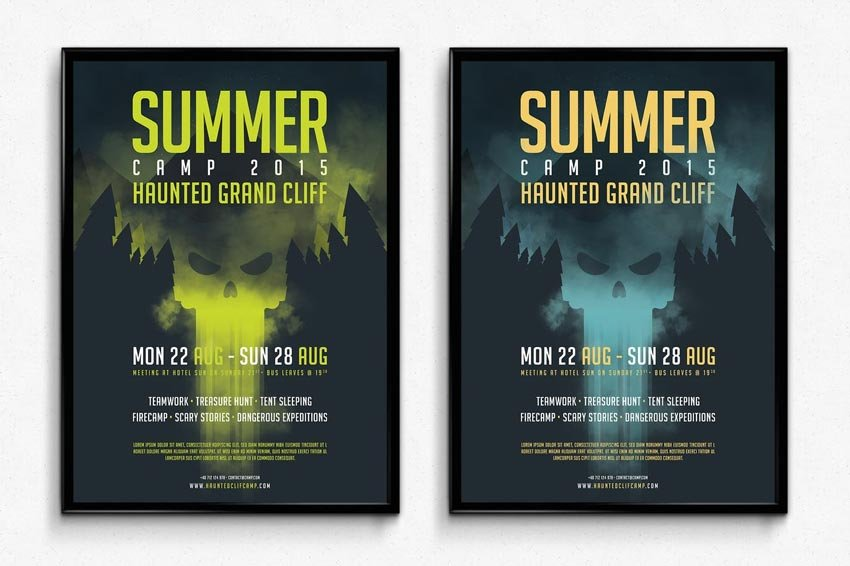 Horror Camp Poster