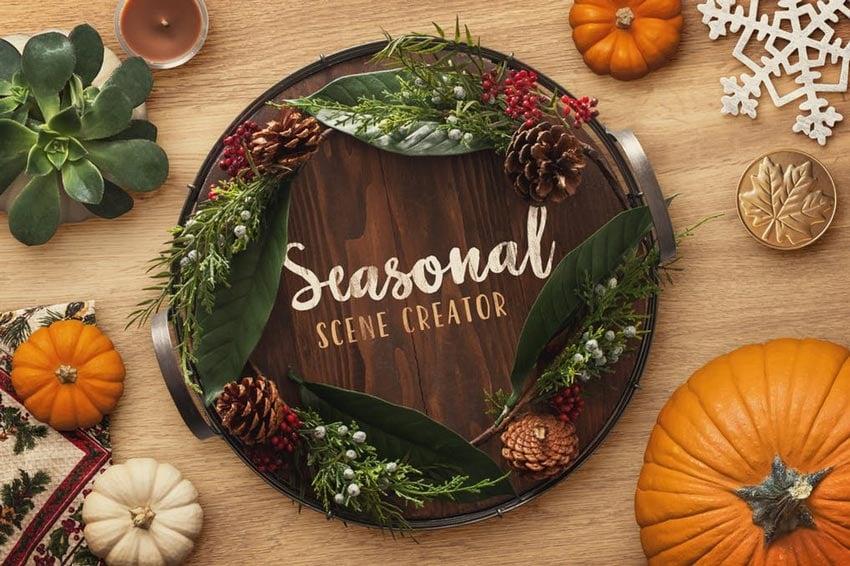Seasonal Scene Creator Volume 1