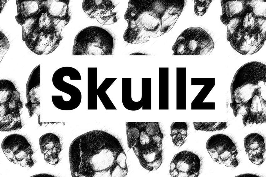 Skullz Seamless Pattern