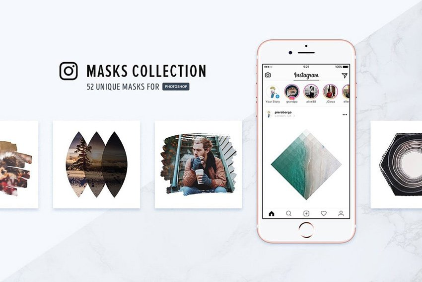 Instagram Masks Collection