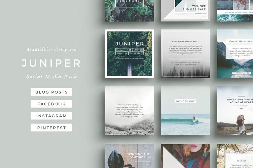 Juniper Social Media Pack